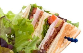 Clubsandwiches lunch